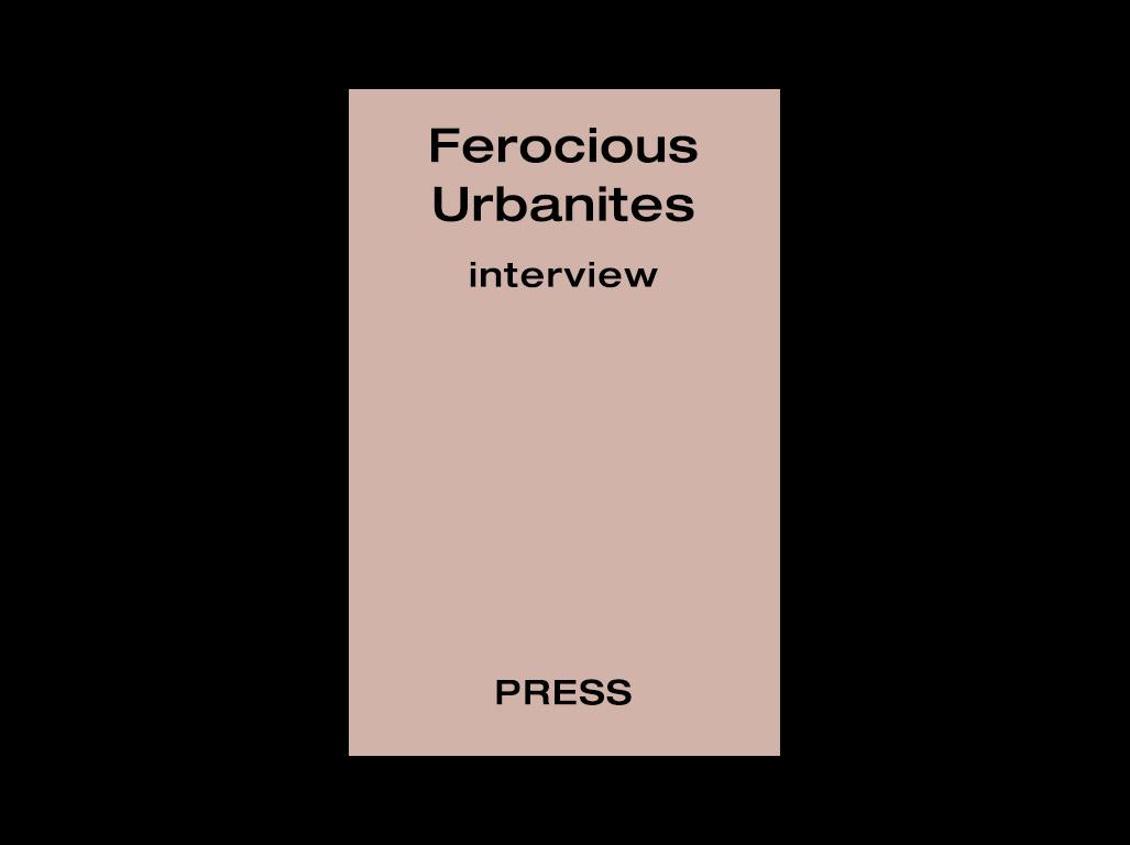 tranouli interview ferocious urbanites